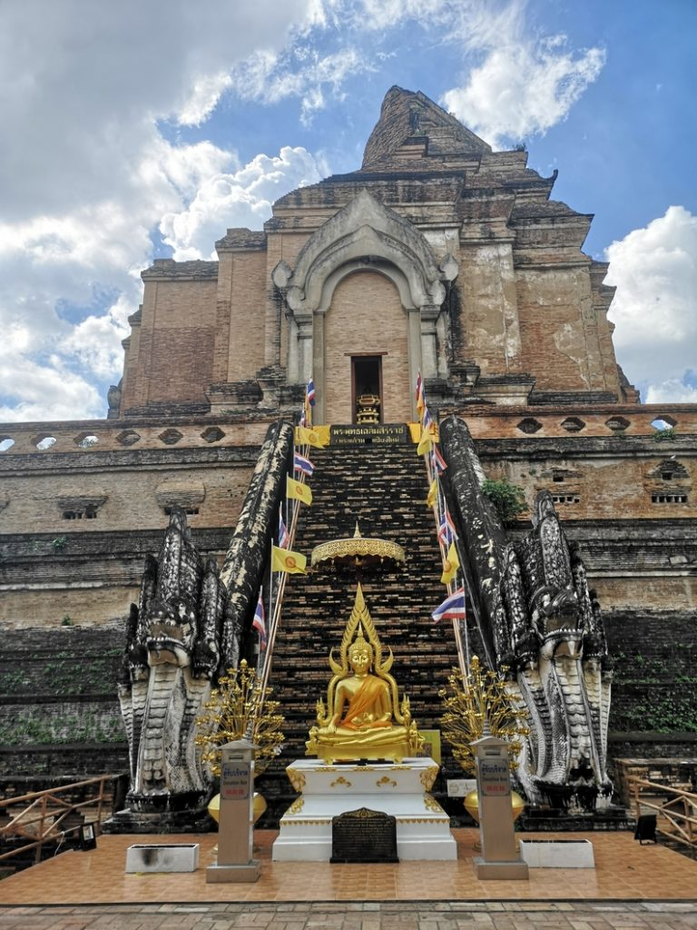 Le fameux Chedi du Wat Chedi Luang