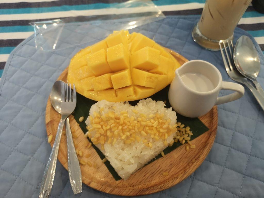 Sticky Rice with Mango à la prison