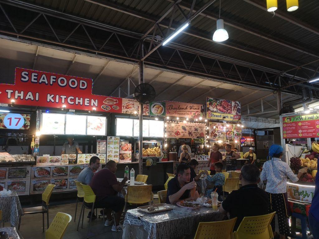 Food Court du Night Bazaar