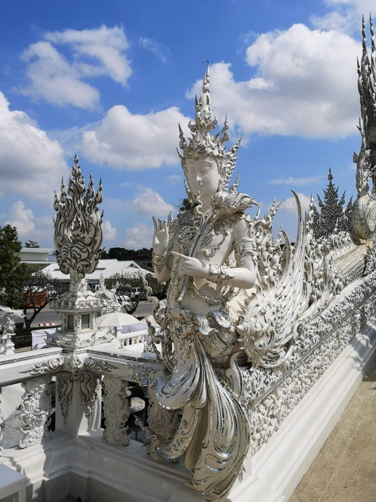 Statue au Temple Blanc