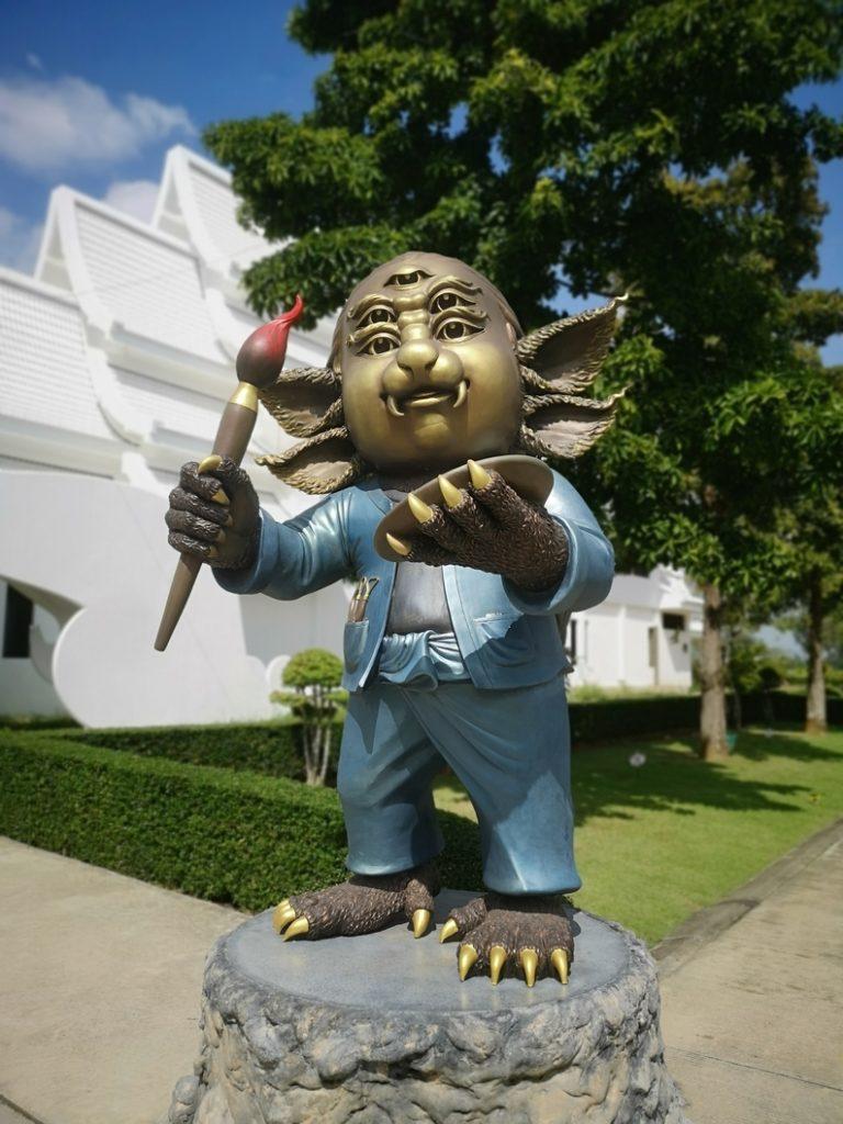 Statue qui me rappelle quelqu'un...