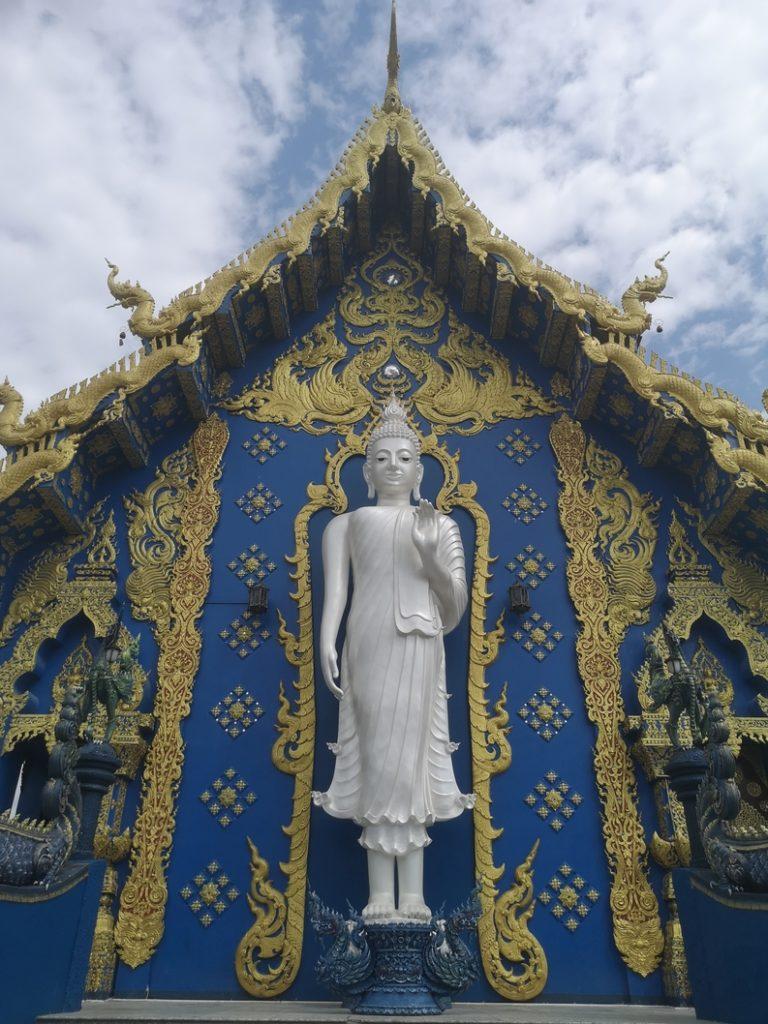 Arrière du Temple Bleu
