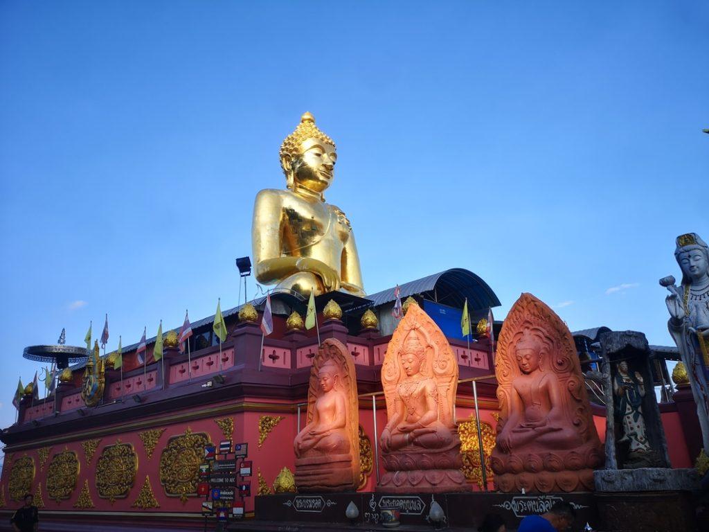 Le Bouddha doré du Triangle d'Or