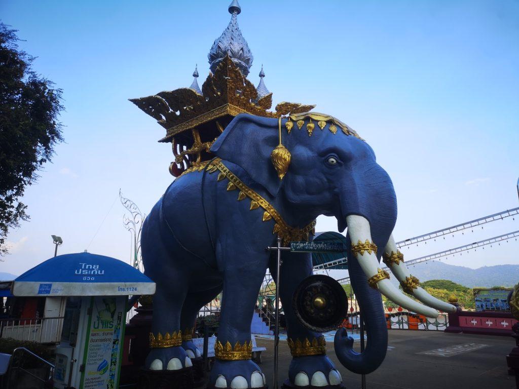 Elephant au Triangle d'Or