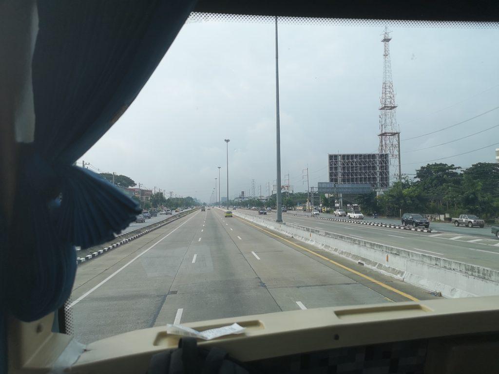 Sur l'Autoroute Thaï