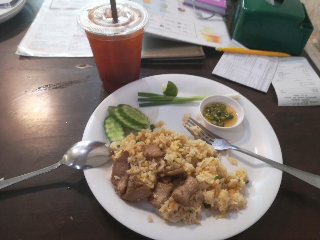 Kao Pad, sorte de riz cantonais thaï