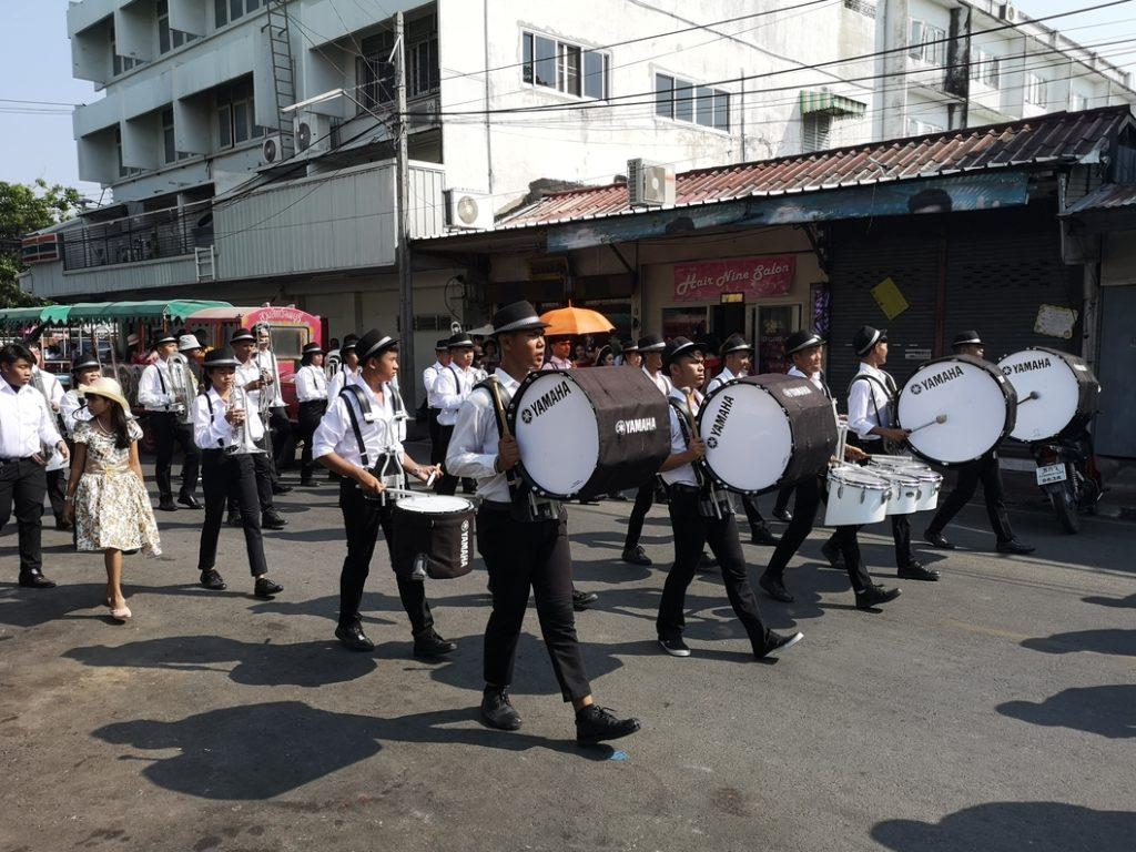 Un défilé musical, me rappelant étrangement des souvenirs