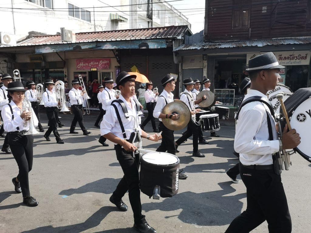 Un défilé musical