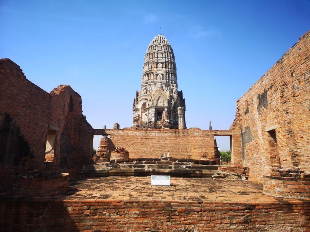 Chedi du Wat Ratcha Burana