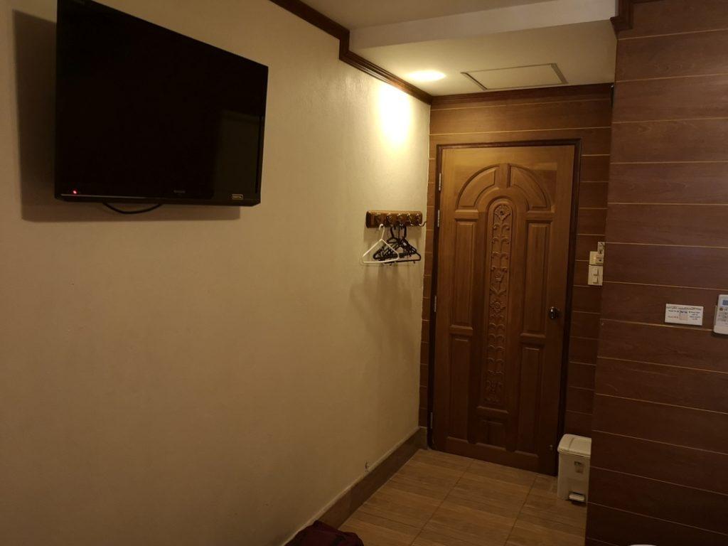 Chambre avec télé!