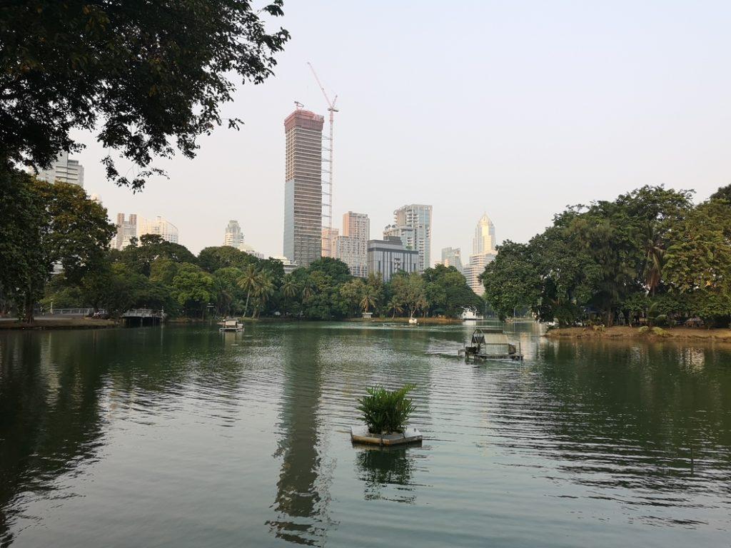 Lac du Lumpini Park