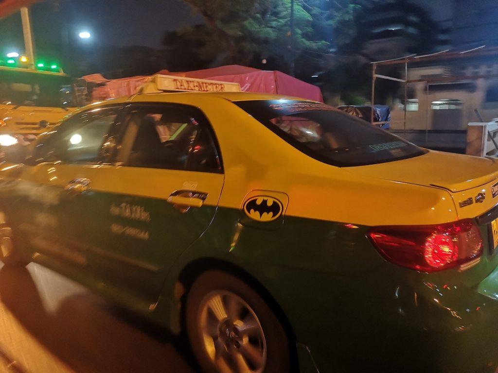 Taxi batman!