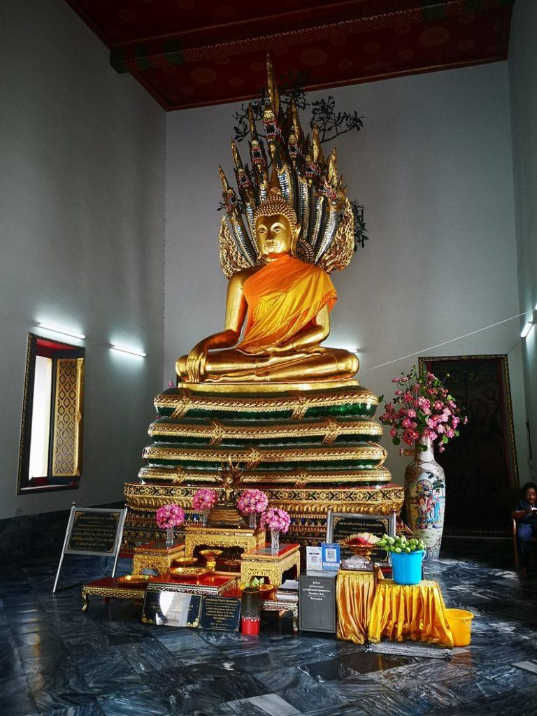 Un Bouddha au Wat Pho