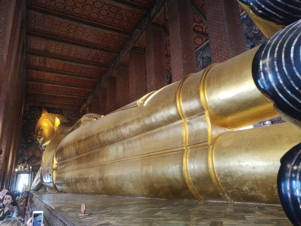 Le célèbre Bouddha allongé