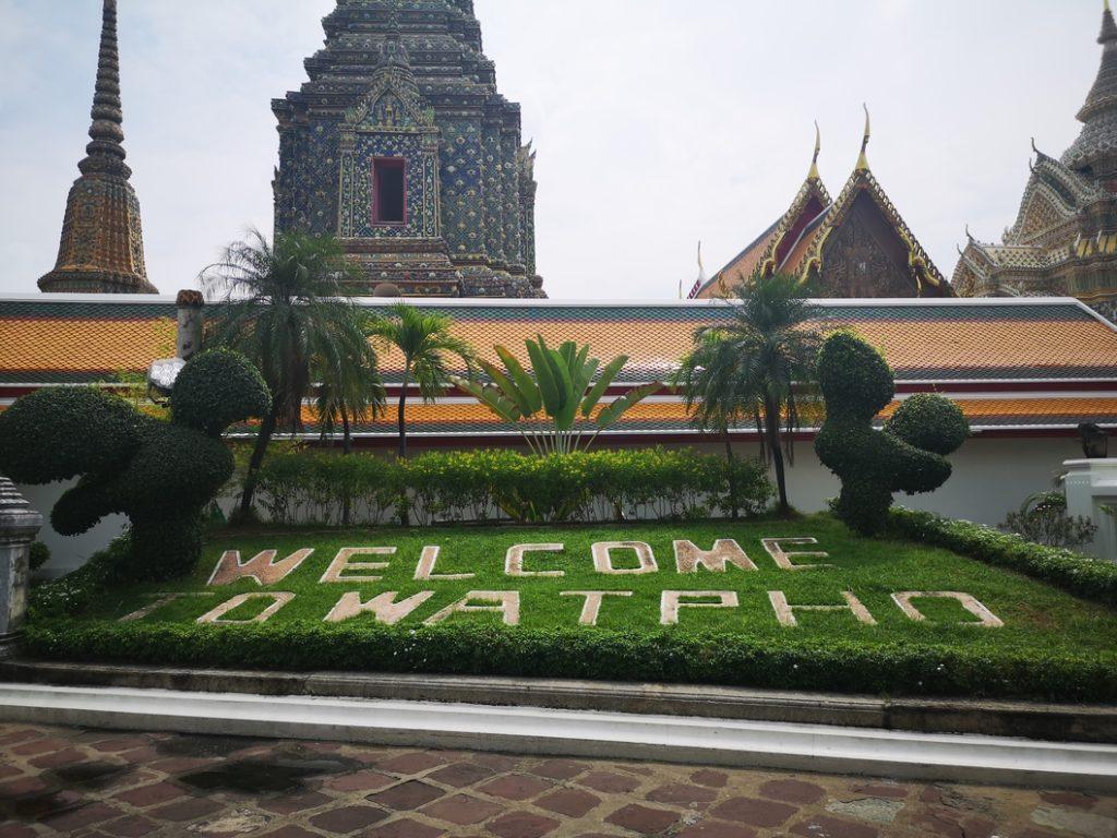 Bienvenue au Wat Pho