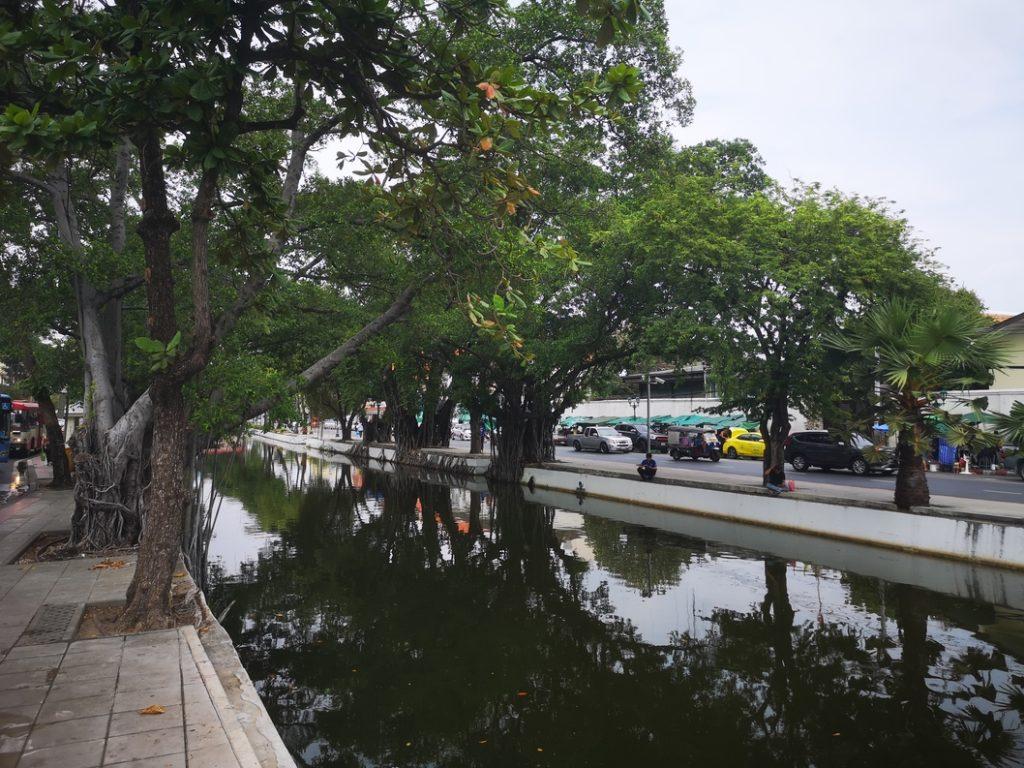 L'un des canaux qui traverse Bangkok