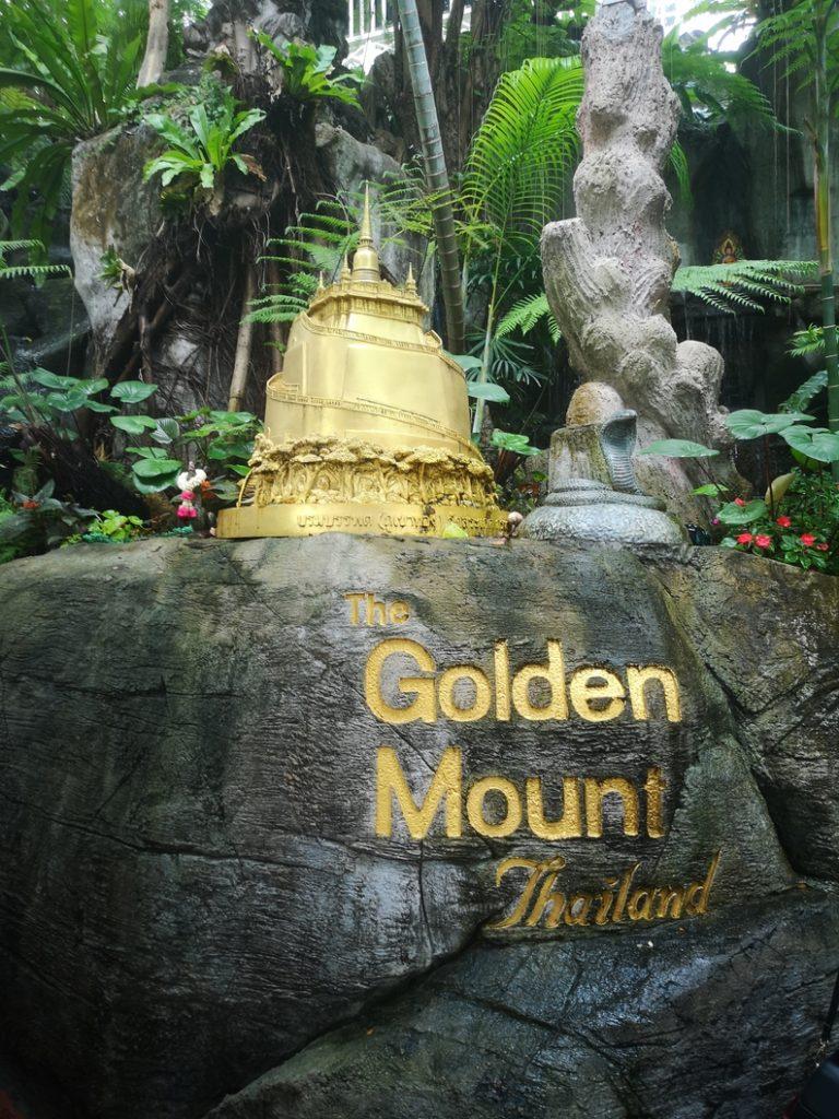 J'attaque la montée du Golden Mount