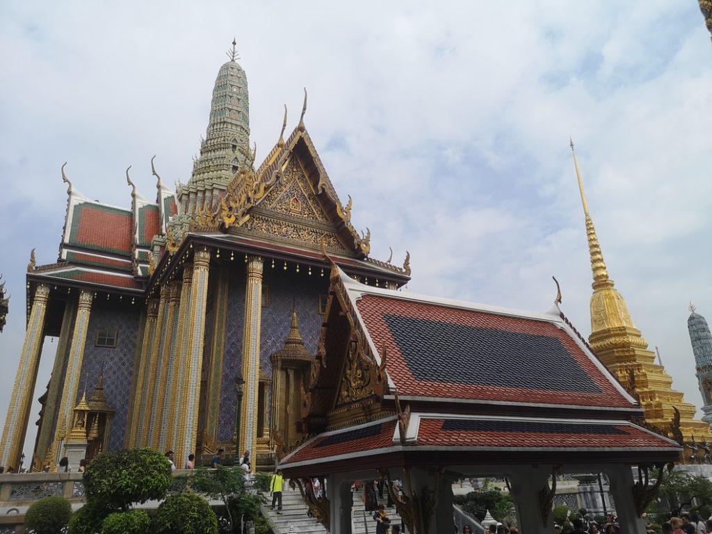 Le Temple du Bouddha d'Emeraude, temple principal du Grand Palais