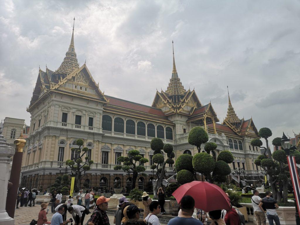 Le Grand Palais, ancienne résidence du Roi de Thaïlande