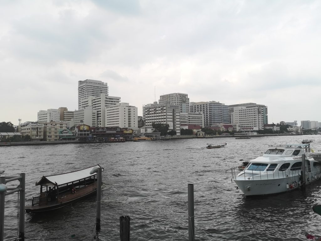 Le Chao Phraya, fleuve qui traverse Bangkok