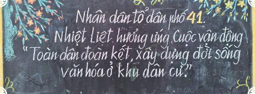 Exemple de texte écrit en vietnamien