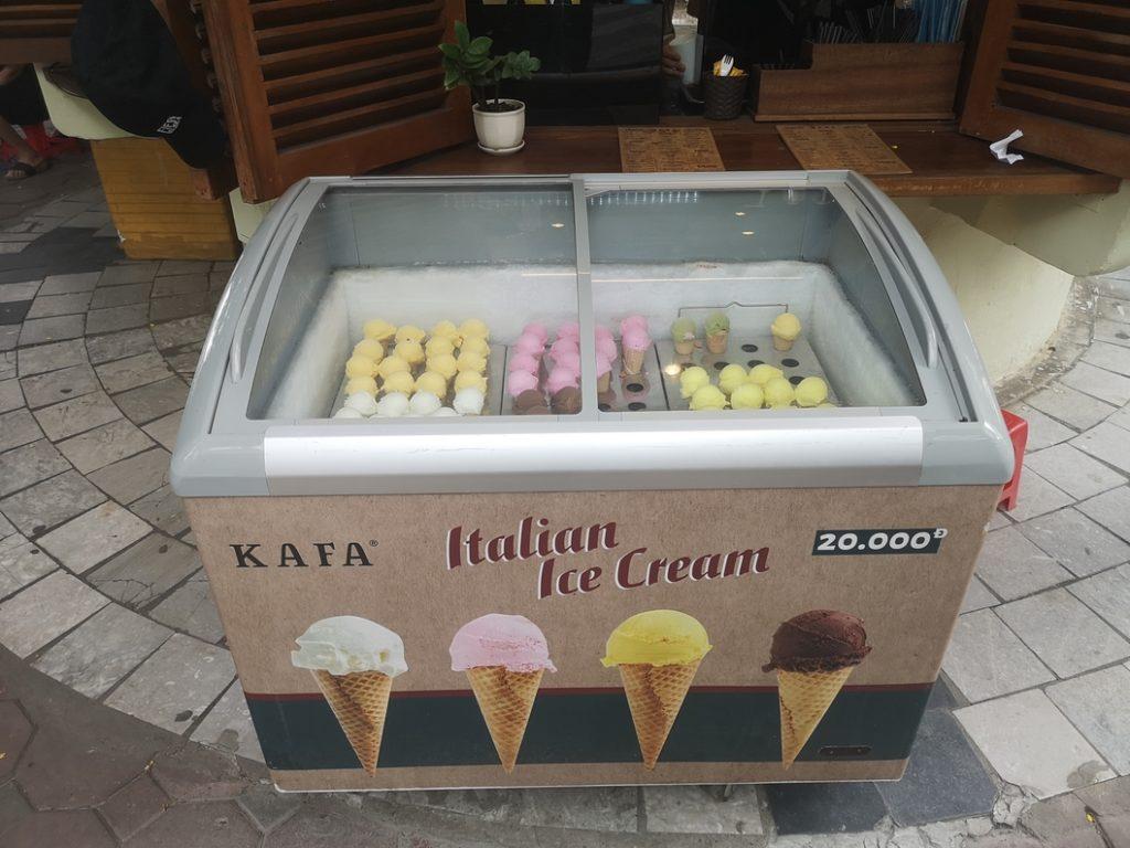 Choisissez votre glace !