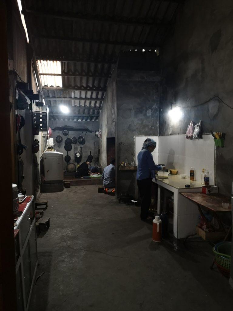 La cuisine de nos hôtes