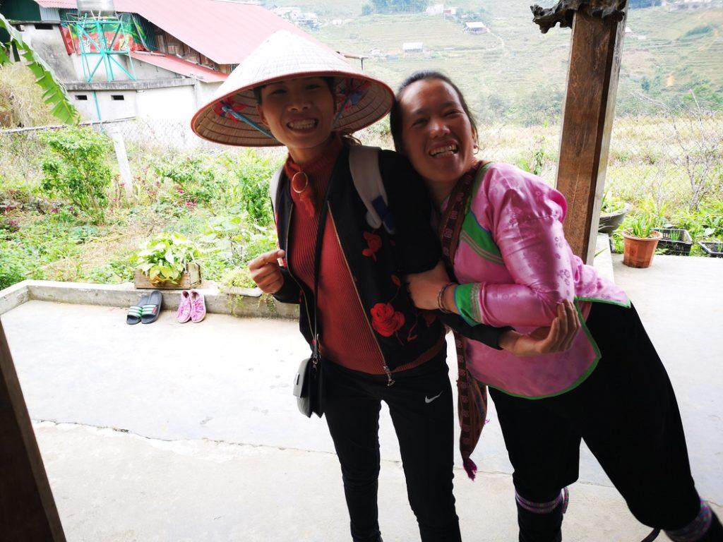Notre guide et son amie