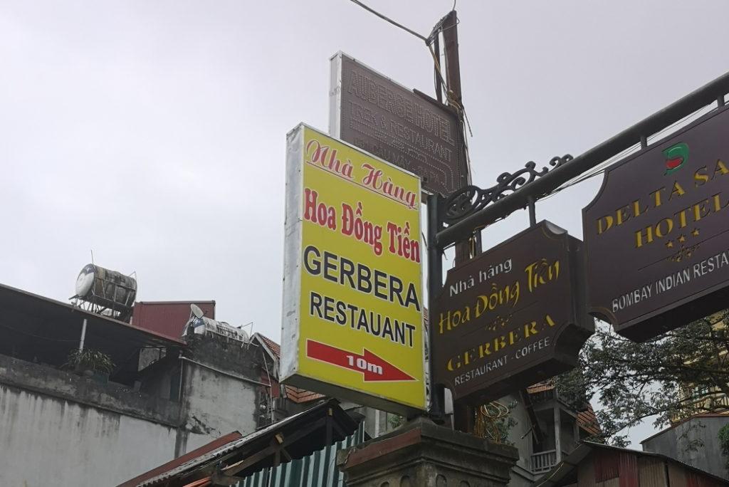Euuh.. On va peut-être pas manger dans ce restaurant