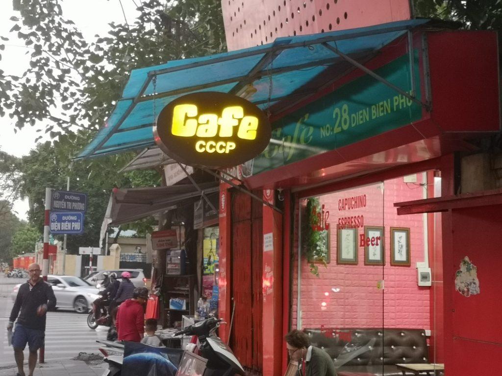 Café CCCP, le Parti est omniprésent