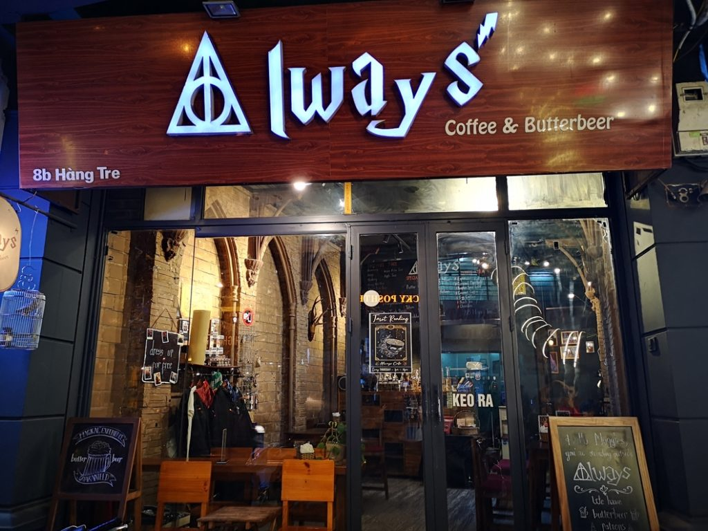 Always Coffee, bar à thème Harry Potter