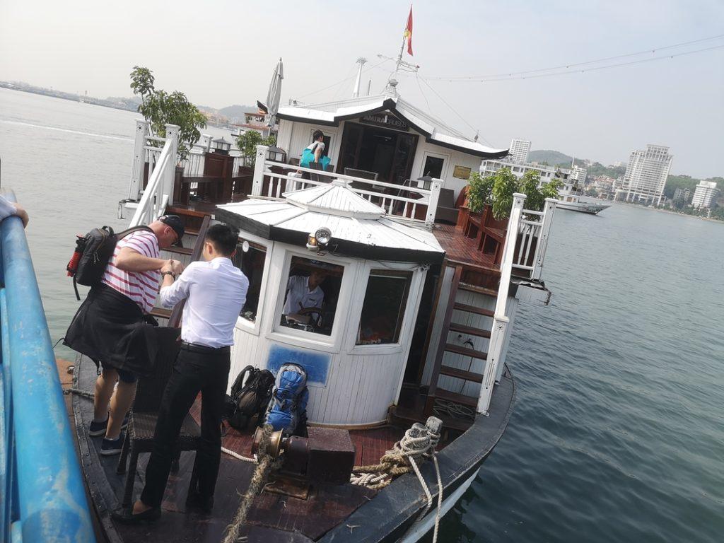 Bienvenue à bord de l'Amira