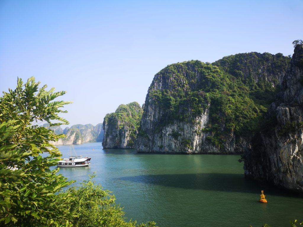 Vue depuis l'îlot