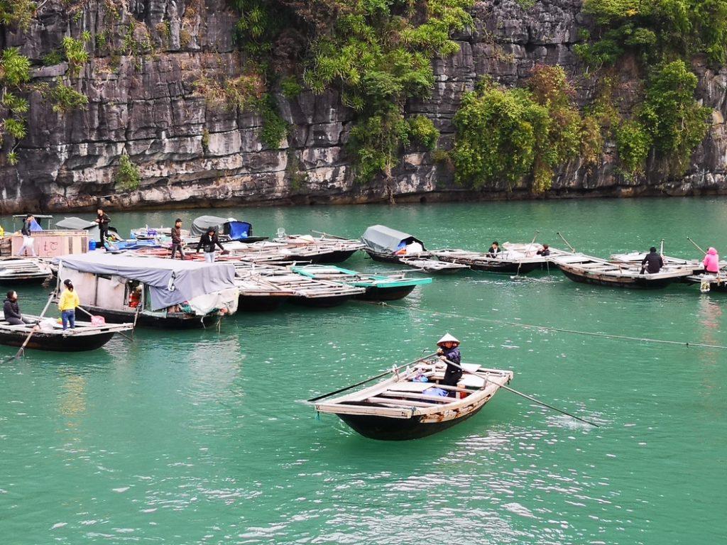 Rameur du village Vung Vieng