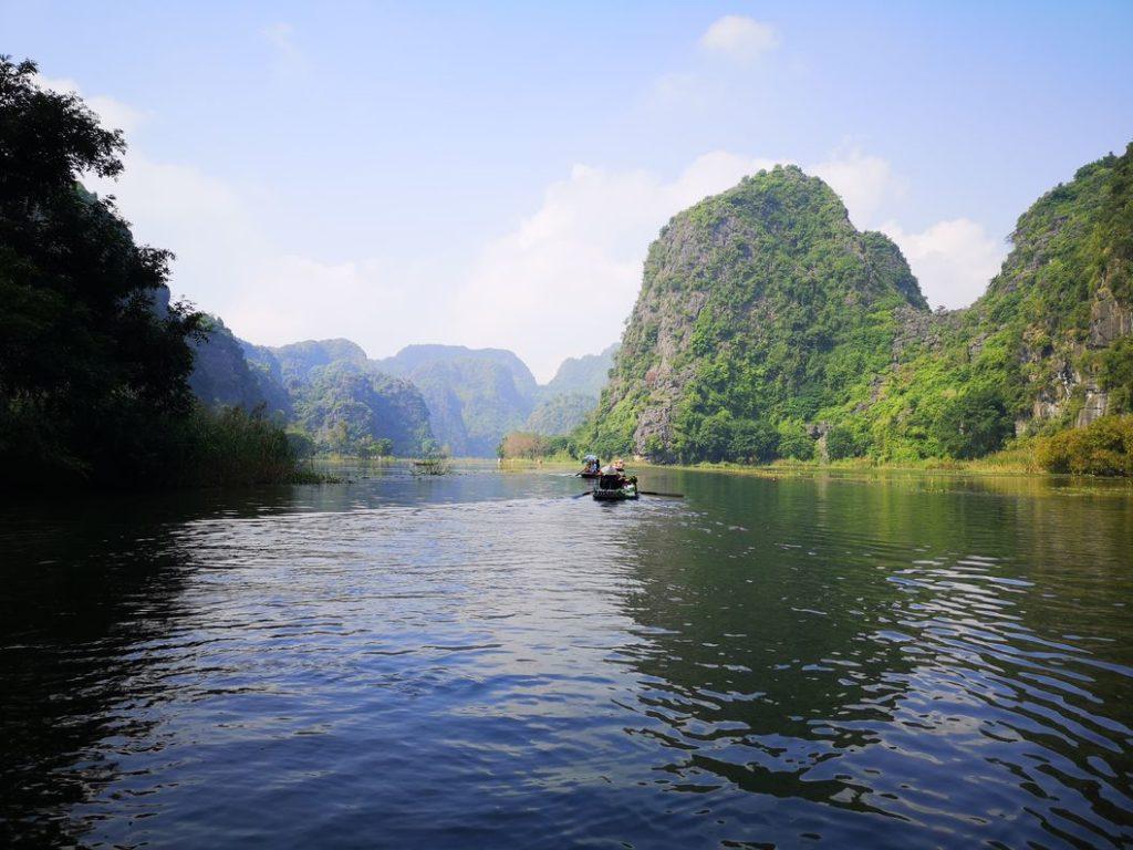 Balade sur la rivière Ngo Dong