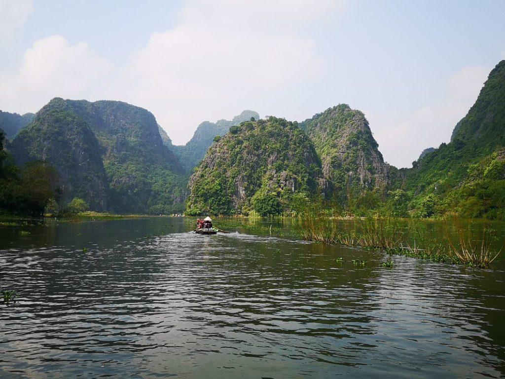 Autre vue sur la rivière Ngo Dong