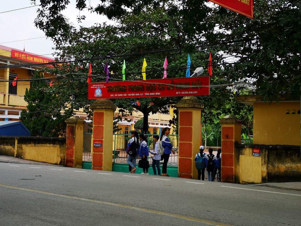L'école de Tam Coc - Toujours autant colorée