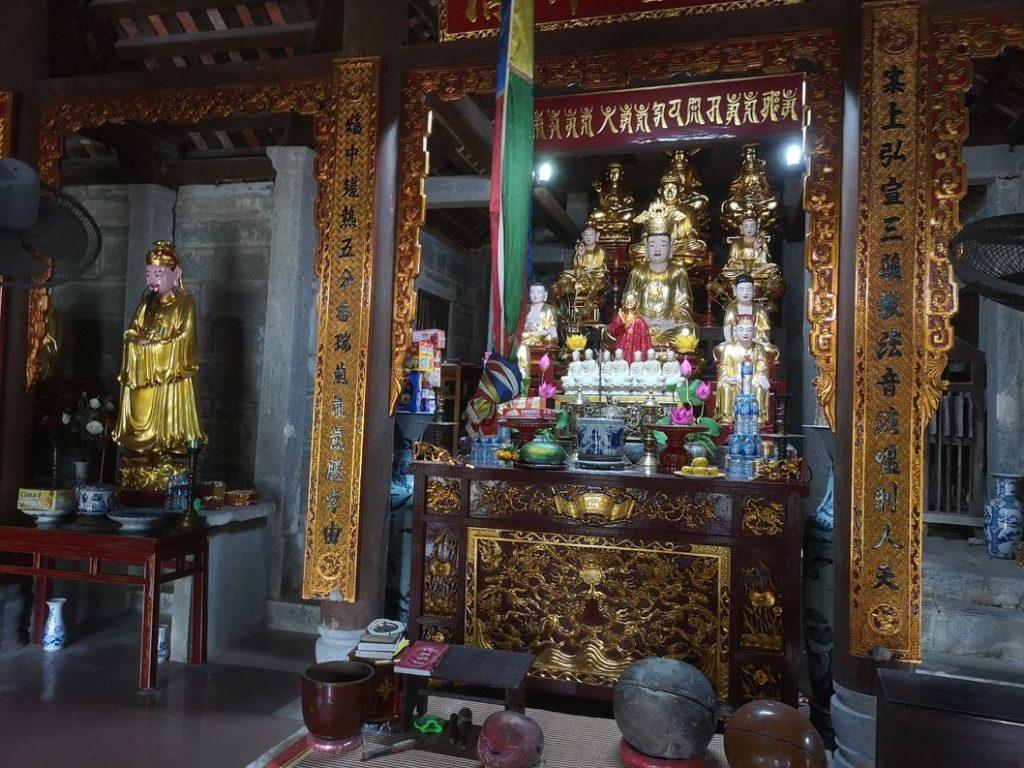 Troisième partie de la pagode