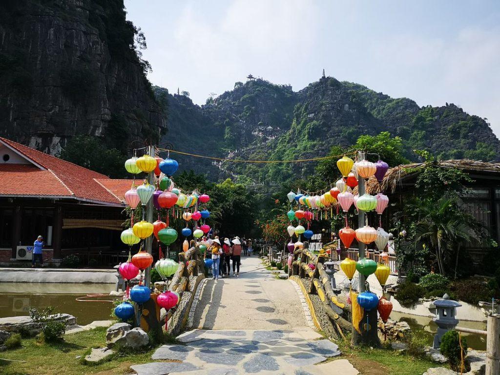 Entrée du parc Hang Mua
