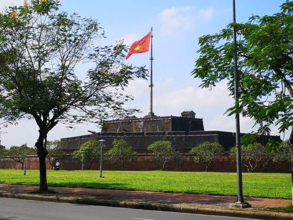L'une des tours de surveillance de la citadelle impériale
