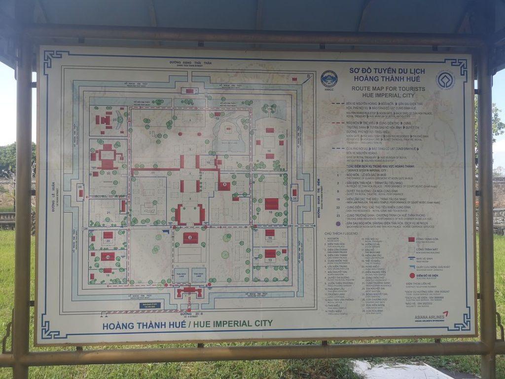 Plan de la cité impériale - Cliquez sur l'image pour l'afficher en plus grande