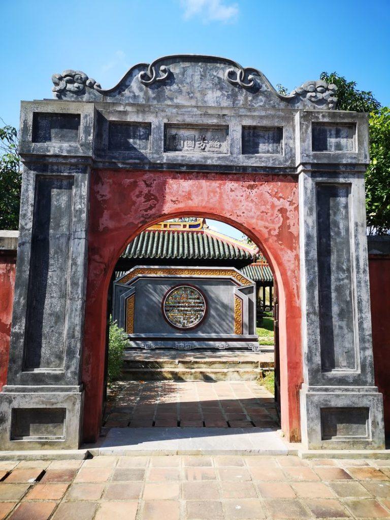 Porte entre deux parties du Palais - En direction du Théâtre royal