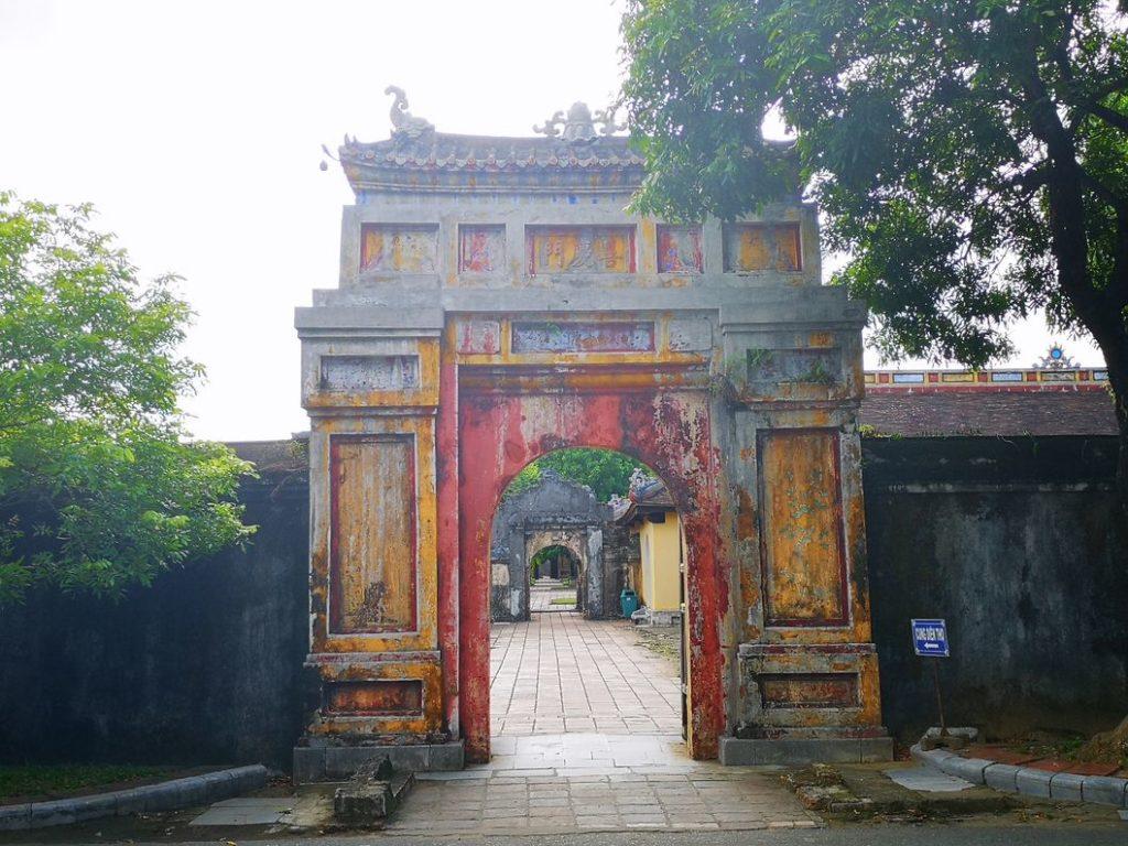 Autre porte interne de la cité impériale