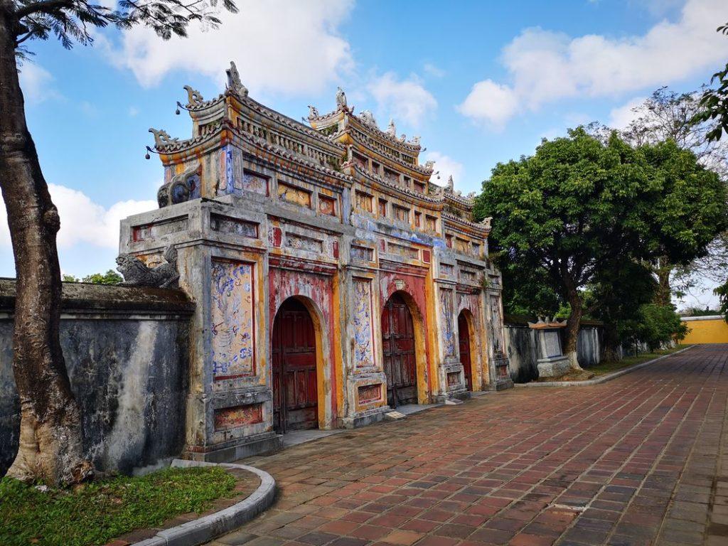 Grande porte interne dans la cité impériale