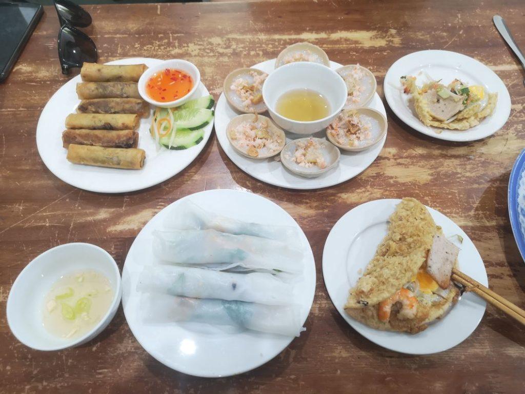 Deuxième partie du repas