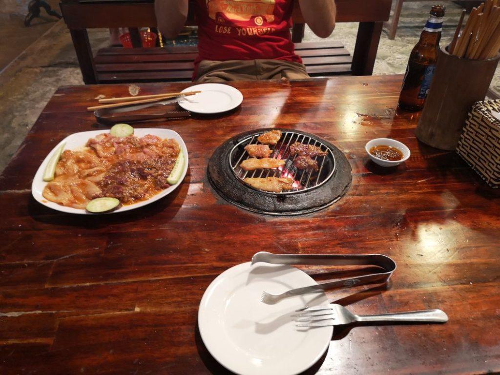 Barbecue vietnamien ce soir là !