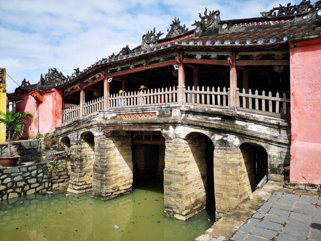 Le Pont-pagode japonais de Hoi An, symbole de la ville