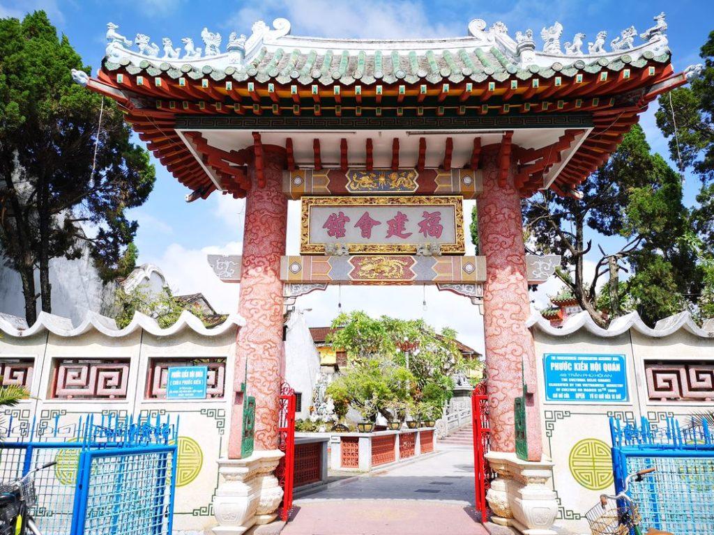 Portail de la maison de la congrégation chinoise de Fujian