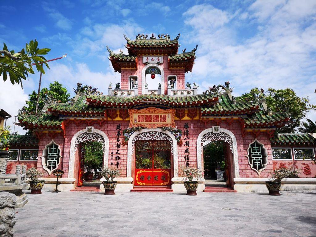 Deuxième portail de la maison de la congrégation chinoise de Fujian