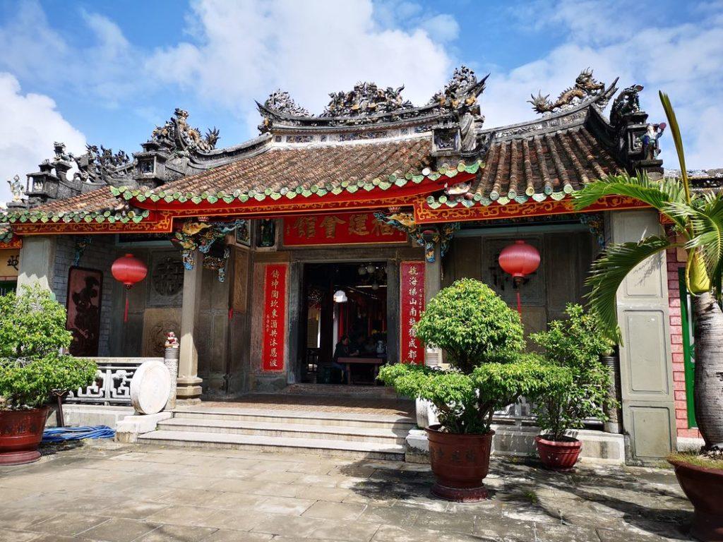A l'intérieur de la maison de la congrégation chinoise de Fujian